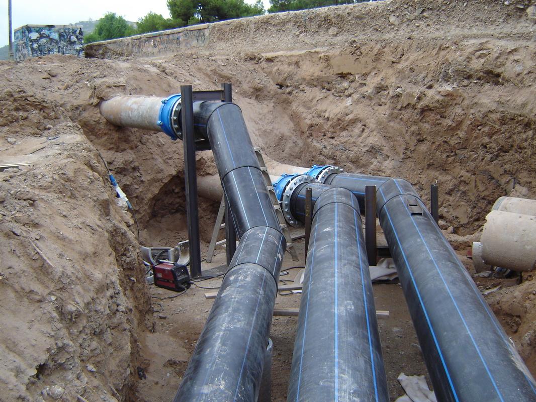 Desv o tuber as de bombeo benipila empresas e - Tuberias para agua potable ...